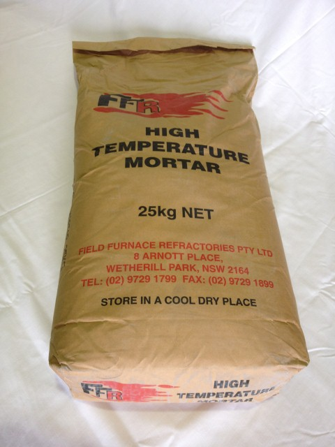 High Temperature Mortar