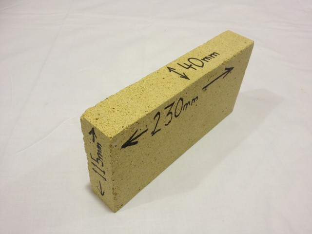 Fire Brick 40mm Split