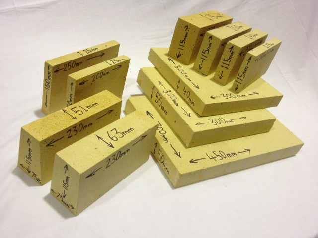 Dense Alumina Bricks SAMPLE PACK